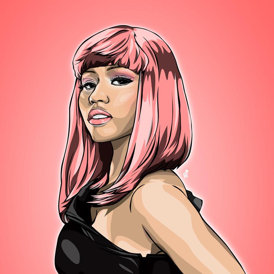 Nicki Minaj Fashion Week  Ef Bf Bd Paris H M