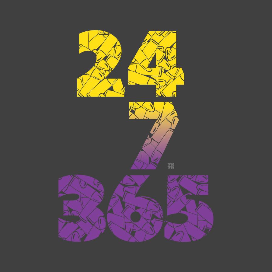24 7 365 Purple Hustle