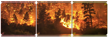 Forest Fire - Long Divider f2u by SweetyAndAlexLavv