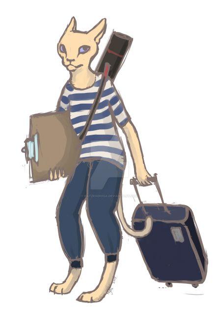 Traveller by katzendiosa