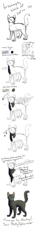 Fur tutorial by katzendiosa