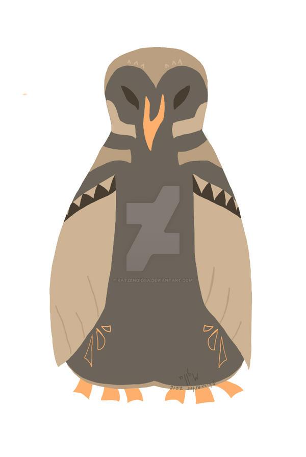 Coffee Owl by katzendiosa