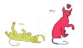 Pixel-kittens by katzendiosa