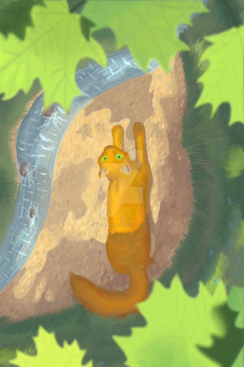 Squirrelflight [Comission] by katzendiosa