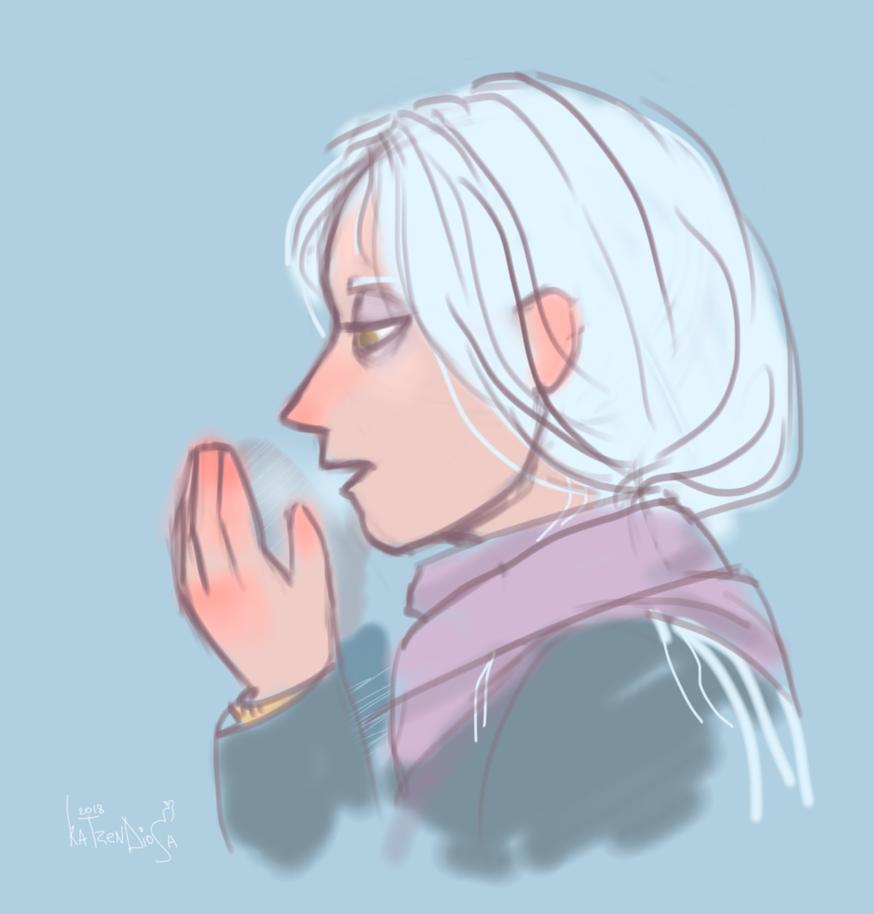 It's cold outside, sweetheart by katzendiosa