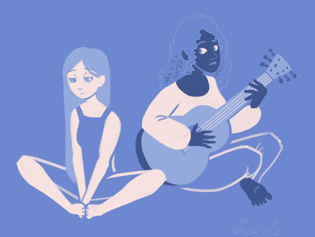 blues by katzendiosa