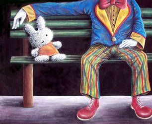 Coulrophobia by JessicaEdwards