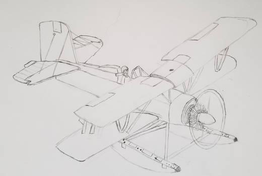G-164 Seacat sketch