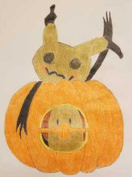 Mimikyu's pumpkin