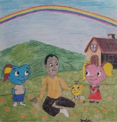 Heart filled childhood memories
