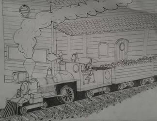 Bunny's train sctech