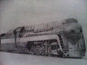 Norfolk and Western Class J (Shaded)