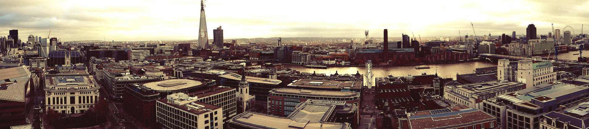 London Skyline Edit -Awesome- by JackHayden