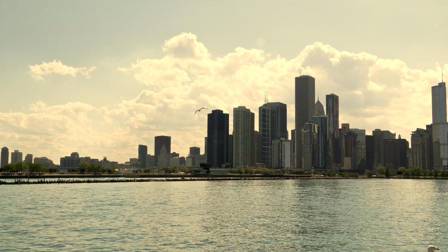 Chicago and da Clouds! by JackHayden