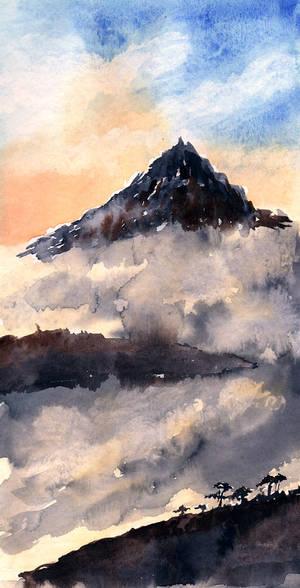 Montagneaquarelle