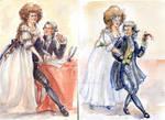 M. et Mme. Lavoisier x2