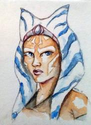 Ahsoka Tano, Star Wars Rebels Watercolor