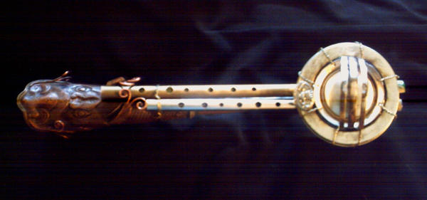 Steampunk Penny whistle