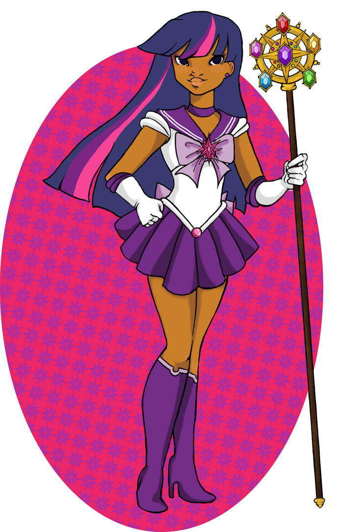 Sailor Twilight Sparkle by KalopsiaCreation