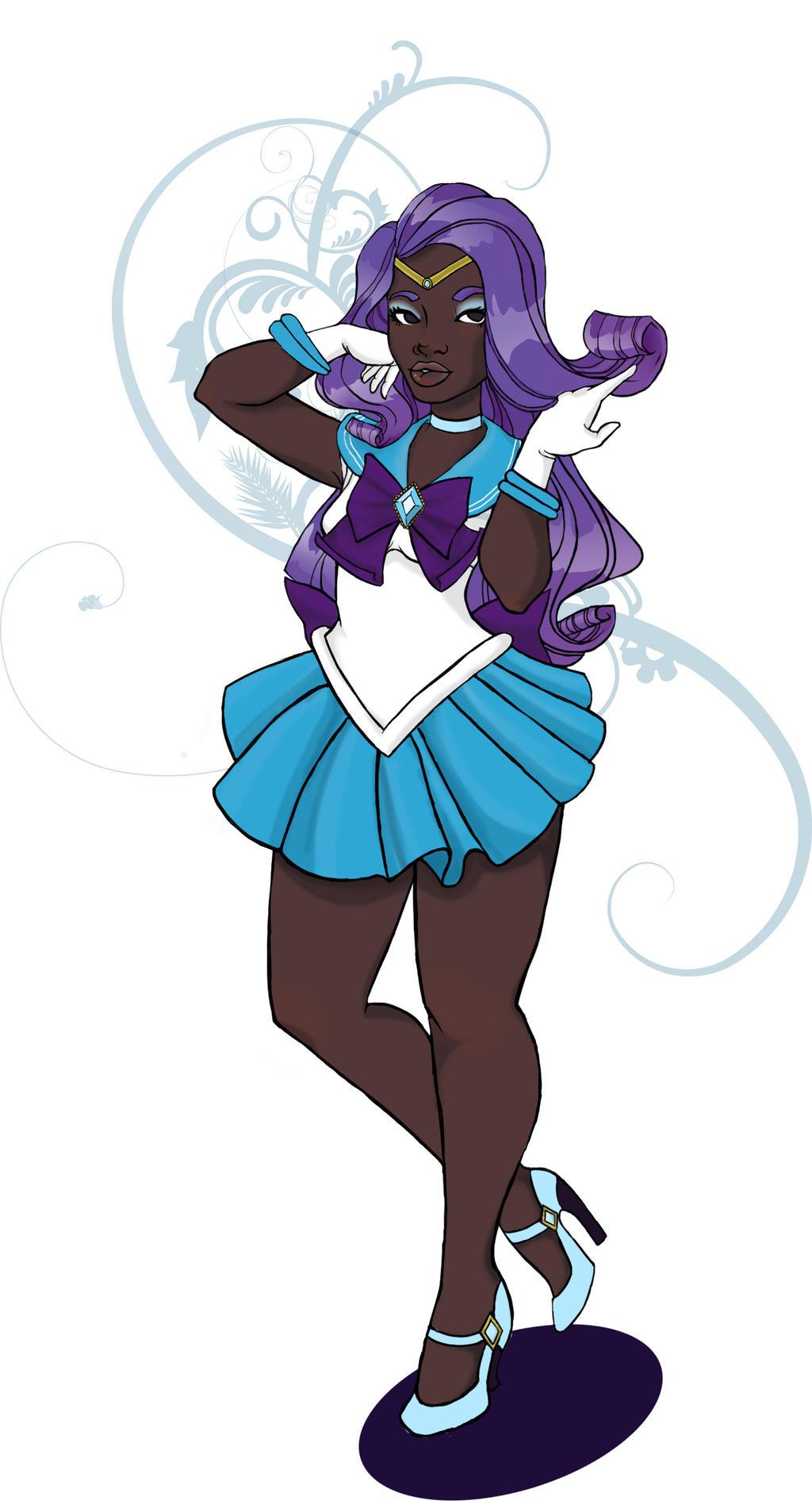 Sailor Rarity by KalopsiaCreation