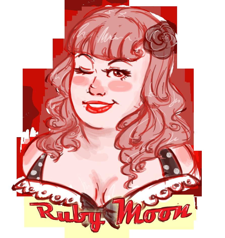 Ruby Moon by KalopsiaCreation