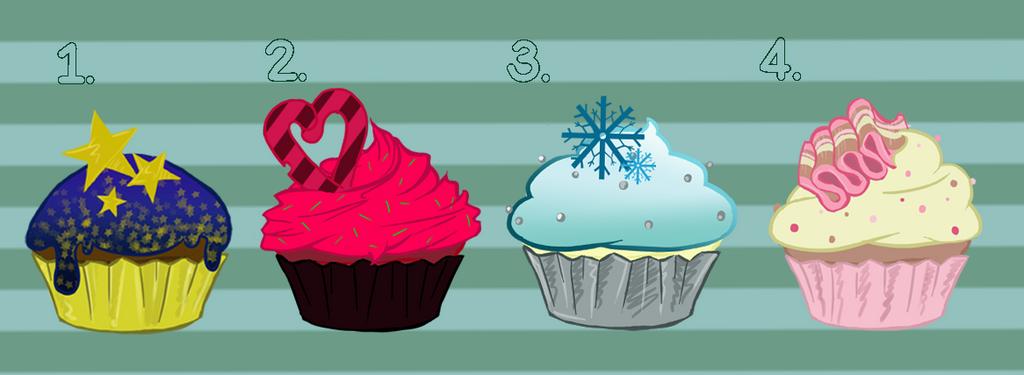 Cupcake Adoptables Batch 1 by KalopsiaCreation