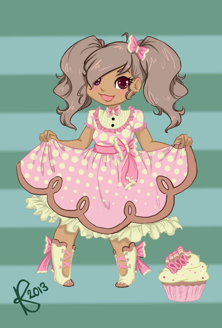 Ribbon Candy Cutie by KalopsiaCreation
