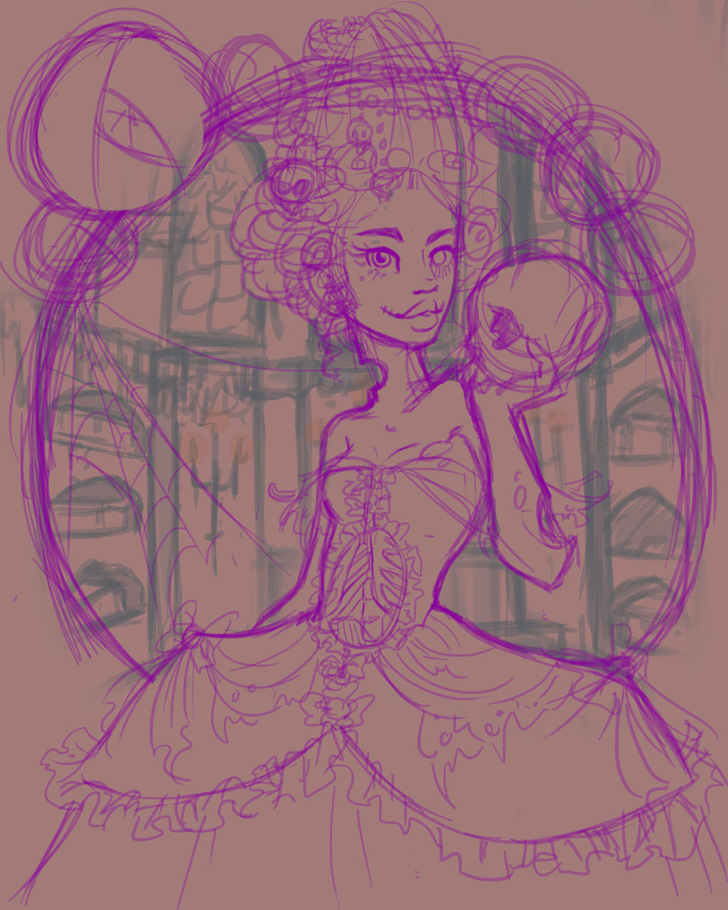 Adelaide The Zombie Princess by KalopsiaCreation