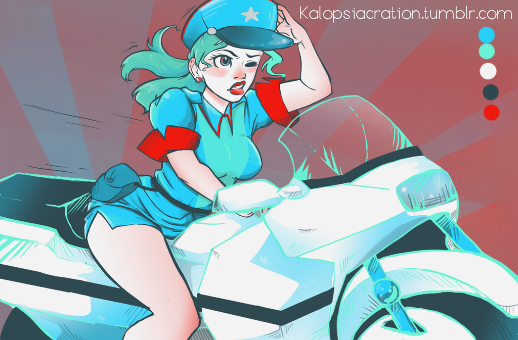 Officer Jenny by KalopsiaCreation
