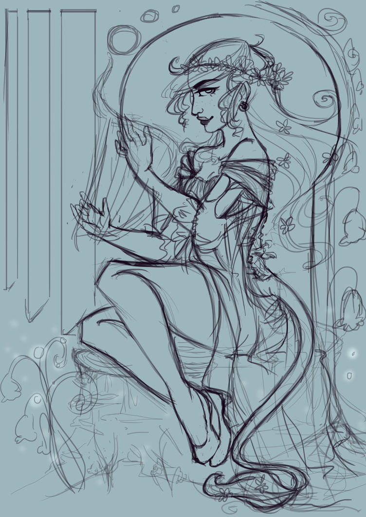 Huldra Princess by KalopsiaCreation