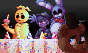 *Happy birthday to FNaF and me!