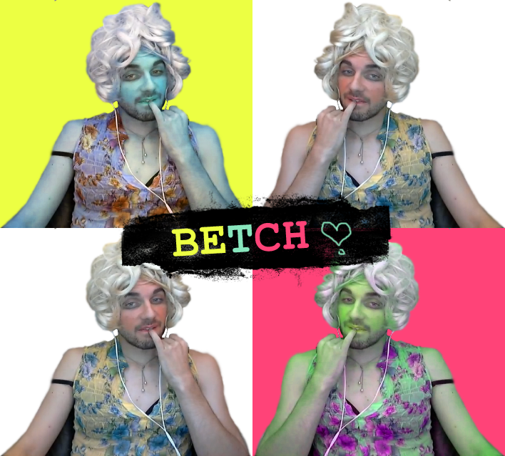 Betch plis - pop art by WisForWanda