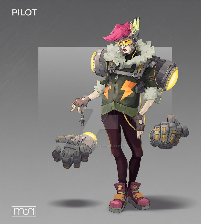 Pilot concept by mundra-mundra