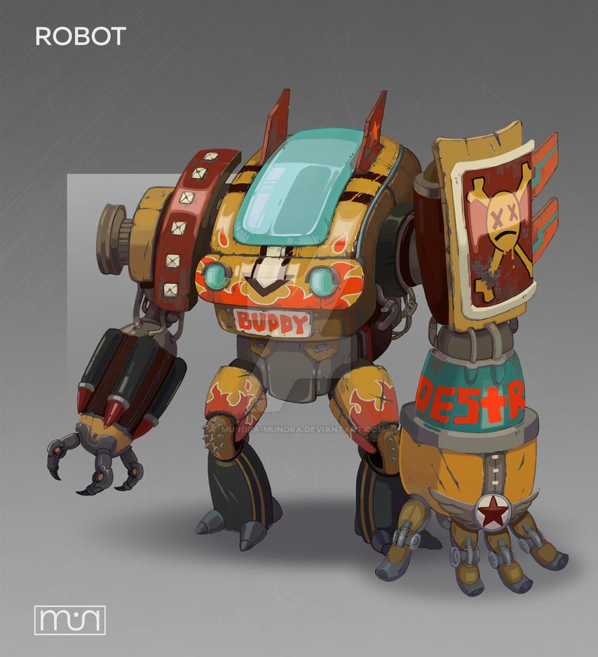 Robot concept by mundra-mundra