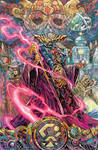 Power Rangers- Edge of Darkness variant cover