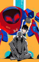 into the Spider Verse by Marzizy