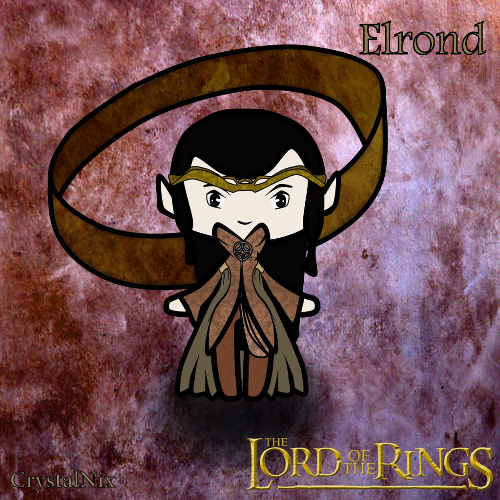 Elrond Lord of the ring Comission for Arwiie by CrystalNIX