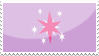 Twilight Sparkle stamp by Ice-In-Heart