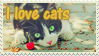 I love cats stamp by Ice-In-Heart