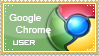 Google Chrome user satmp by Ice-In-Heart