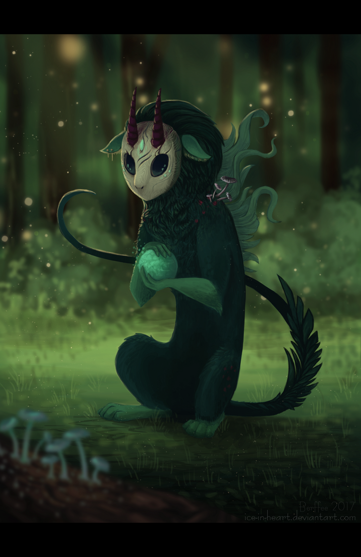 Forest spirit by Ice-In-Heart