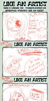 LIKE AN ARTIST by Fuzzi-Wuzzi