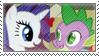 SpikexRarity Stamp by inkypaws-productions