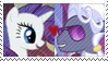 REQUEST:  RarityxHoity Stamp by inkypaws-productions
