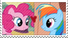 REQUEST:  Rainbow Pie Stamp by inkypaws-productions
