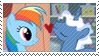 REQUEST:  Rainbow Pierce Stamp by inkypaws-productions