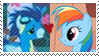 REQUEST:  RainbowSoar Stamp by inkypaws-productions