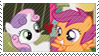 REQUEST:  ScootaBelle Stamp by inkypaws-productions