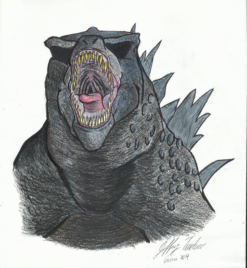 Godzilla 2014 by JeffreyTrudeau