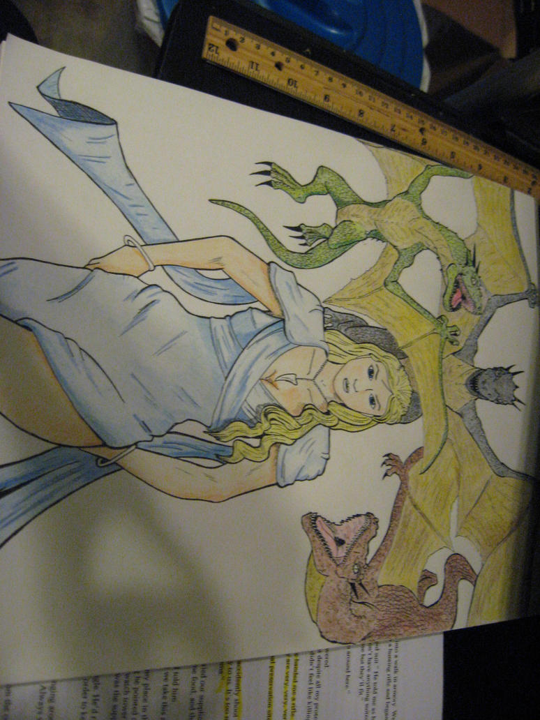 Khaleesi: Mother of Dragons (Final) by JeffreyTrudeau